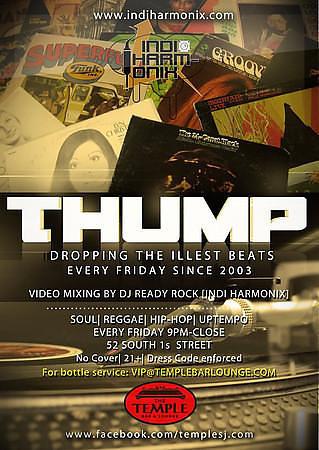 Thump @ Temple Bar & Lounge 10.18.13