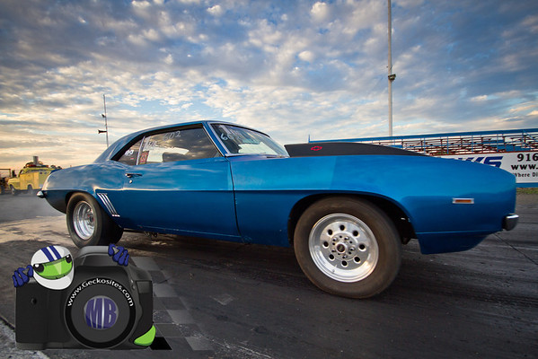 Blue Camaro