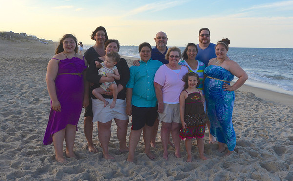 Beach Shots Family  OBX2013