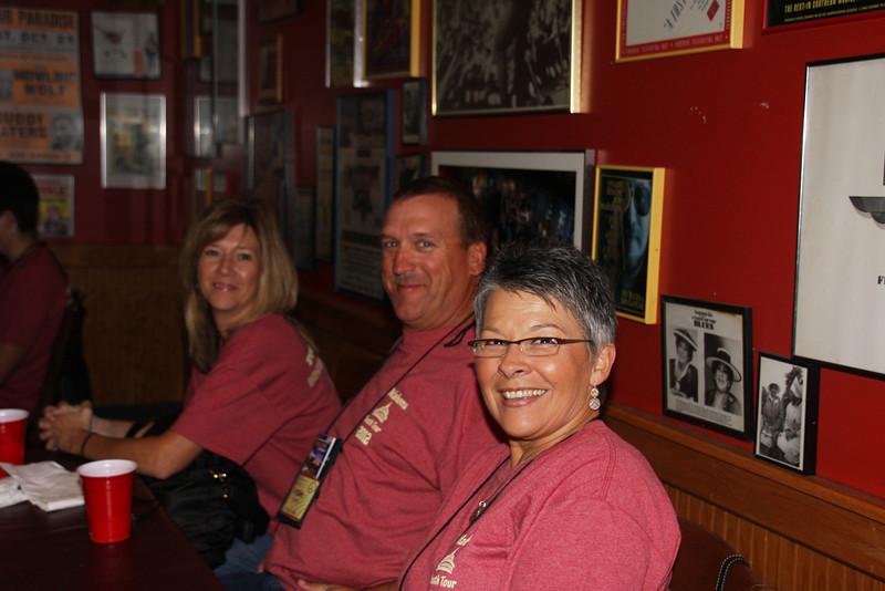 Arch Hutchens, Robbie Hutchens, Barbara Russell