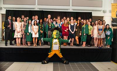 Grad Toast Celebration:  May 2016