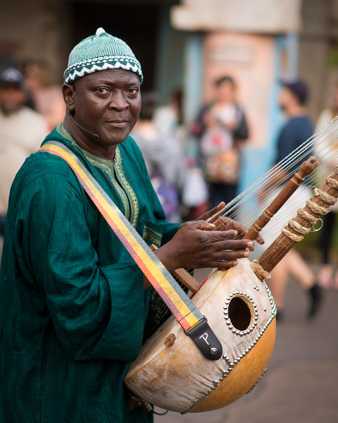 Street Musician - Animal Kingdom Walt Disney World