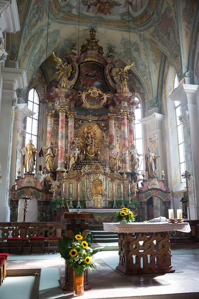 Maria Alm Church Interior