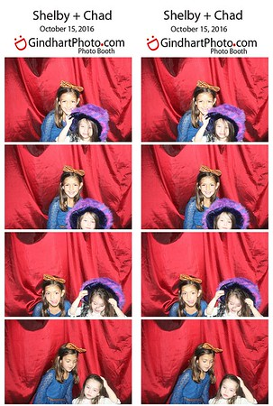 Shelby and Chad: Photo booth
