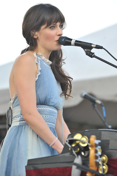 Zooey Deschanel of She and Him