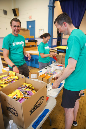 Fidelity Service Event 2019 - City Year Boston