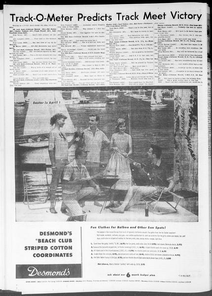 Daily Trojan, Vol. 47, No. 100, March 21, 1956