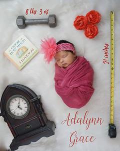 Adalynn's newborn session