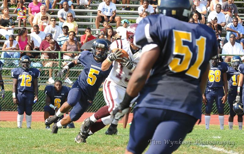 9/25/2010, Somerset, NJ: Phillipsburg vs Franklin.