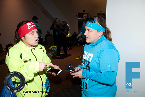 F^3 Half Marathon - 1/24/15