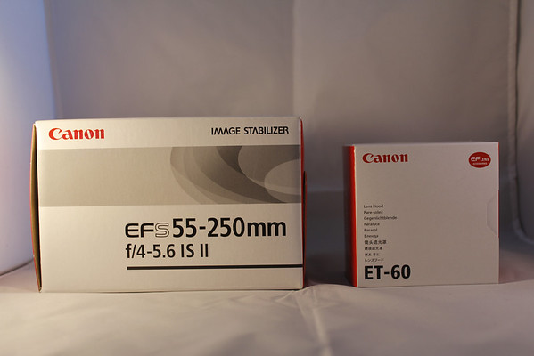 Canon EFS 55-250mm f4-5.6 IS II