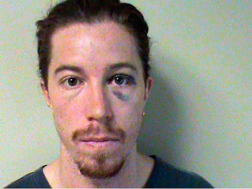 . Shaun White booking photo provided by Nashville Police Department.