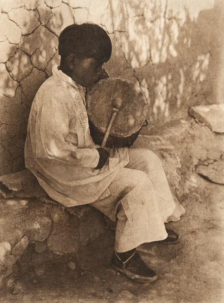 An Isleta boy (The North American Indian, v. XVI. Norwood, MA, The Plimpton Press,  1926)