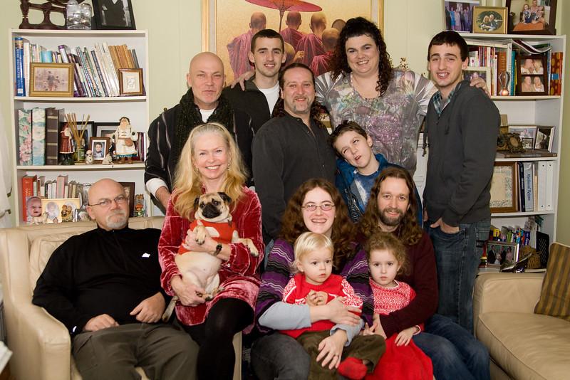 Group photo. Top (left to right): Jeff, Corey, Matt, Gillian, Rachel, Jamie. Bottom (left to right): Doug, Judi, Sookie, Deb, Quinton, Eric, Beverly