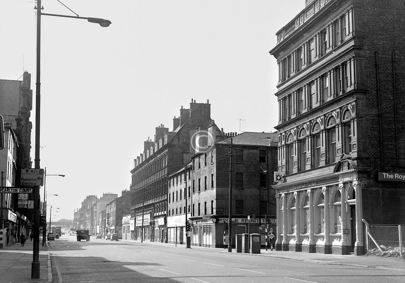 Bridge St, west side, south of Carlton Place.    May 1974