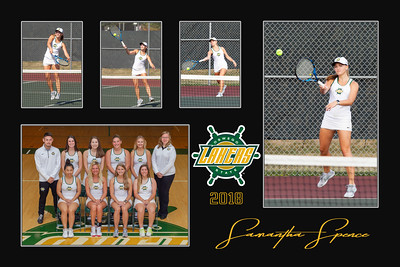 Women's Tennis Senior 2018