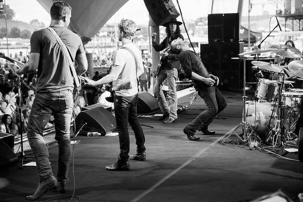 Morrison Brothers Band at Pier 6 Pavilion