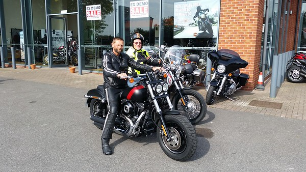 Motorbike Ride to the South Coast with Richard
