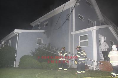 Winthrop, MA - Working Fire, 57 Ocean View Street, 7-4-09