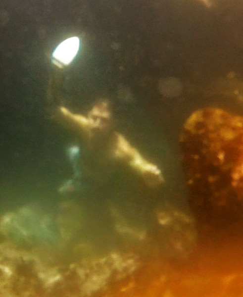 Getting the gear through these flooded underwater tunnels was the first challenge