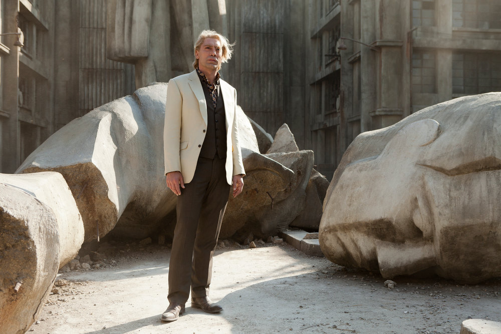 ". Javier Bardem portrays James Bond\'s nemesis in ""Skyfall.\"" Provided by Sony Pictures."