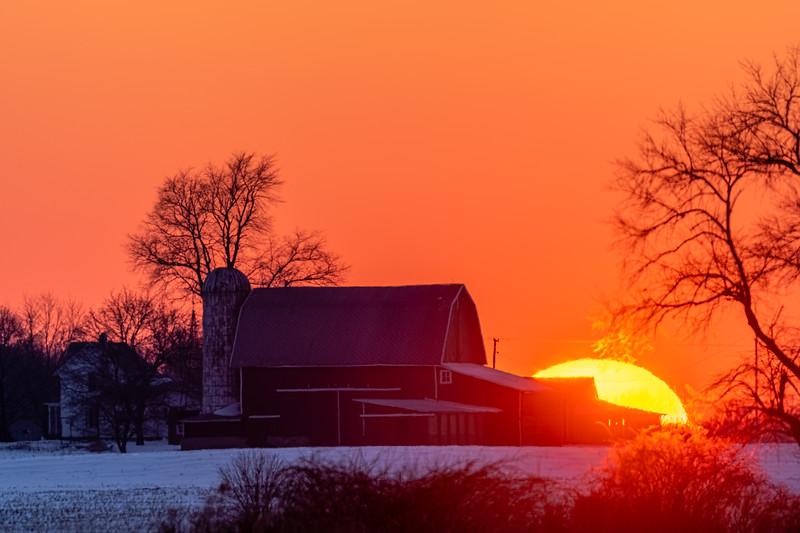 sunset over the Webber's barn 2-16-20-18.jpg