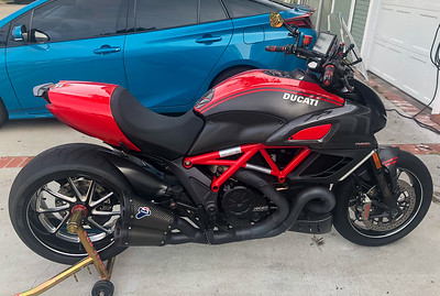 Ducati Diavel Carbon (RS) on IMA