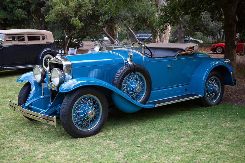 1928 La Salle Roadster, owned by Richard Stanley