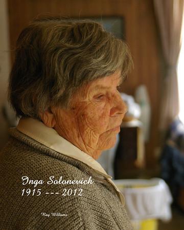 Inga Solonevich  ----     1915 --- 2012