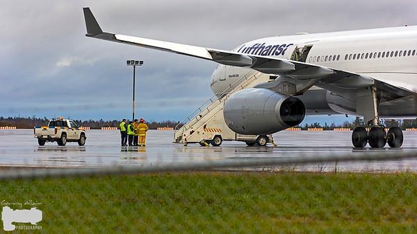 YQM Moncton Lufthansa A330