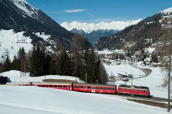 Switzerland Rhätische Bahn