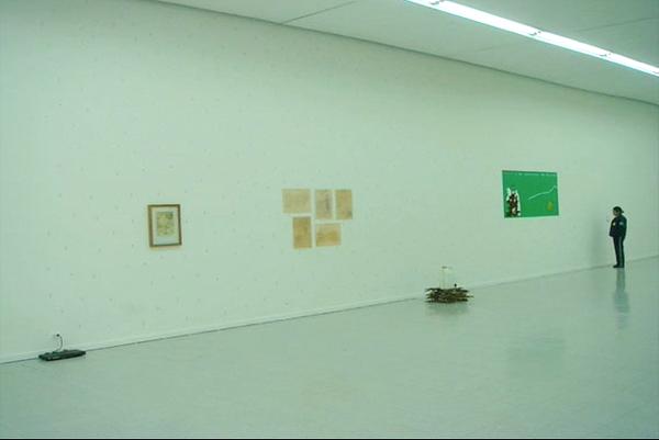 26. Wilson Díaz, con Leonardo Herrera. Banco de semillas, Instalación, 7 Encuentro Instituto Hemisférico de Performance y Política, Museo de Arte Universidad Nacional, Bogotá, 2009.