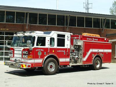 Lincoln, MA Fire Apparatus