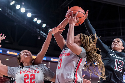 2020-Jan-08 NCAA Women's Basketball | Houston Cougars v Temple Owls