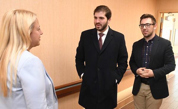 State Senator Gounardes Visits Menorah Home