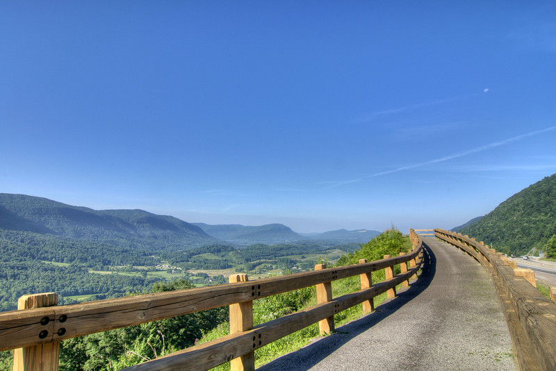 The Powell Valley Overlook along Highway 23/Orby Cantrell Highway in Norton, VA on Friday, July 26, 2013. Copyright 2013 Jason Barnette