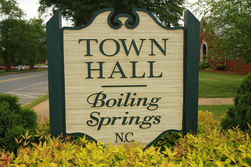 Boiling Springs Town Hall; Publications 2012 Spring