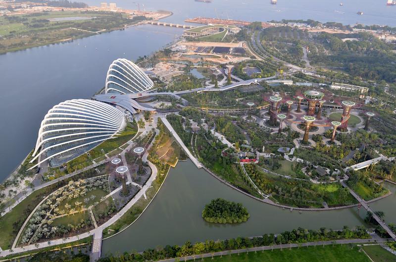 Conservatories, Sky Gardens, Singapore