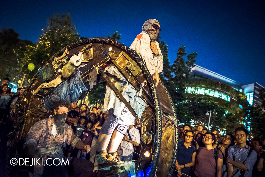 Night Festival 2016 - The Wheel House by Acrojou, scouting
