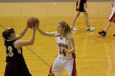 Hamilton Girl's Basketball vs. Evant