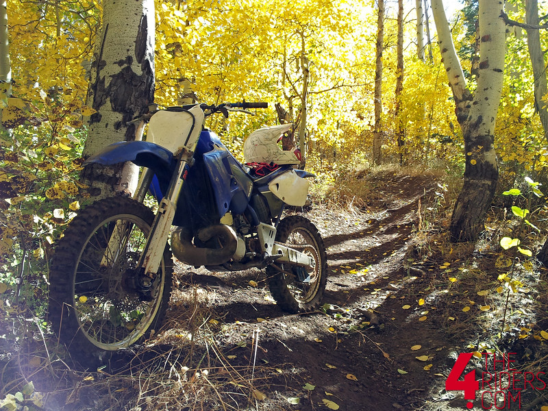 yz250 yamaha closed trails