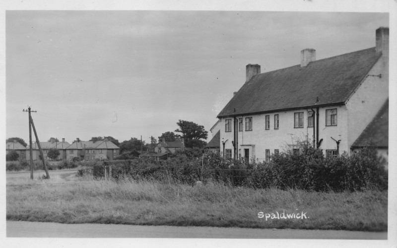 Stow Road, Spaldwick. Photo provided by E.A. Adams