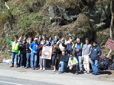 3.26.11 Patapsco River Cleanup at Ilchester in Ellicott City