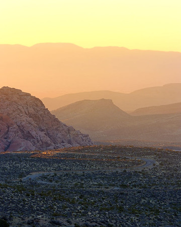 The Landscapes of Red Rock