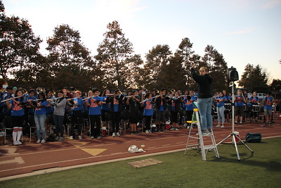 2016-09-16 Football Game vs. OG Pep band and performance