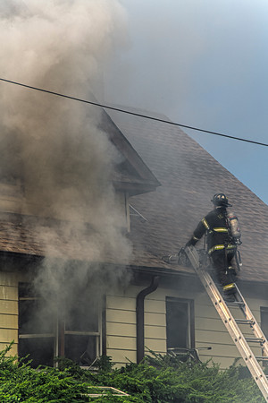 Paterson, NJ 2nd alarm E.24th St. and 19th St. dwelling fire