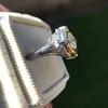 1.02ct Round Brilliant Diamond Bezel Ring 14