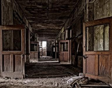 Abandonned Detroit Schools