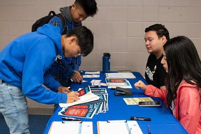 Memorial High School CTE Job Fair