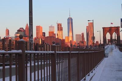 Brooklyn Bridge New Years Day